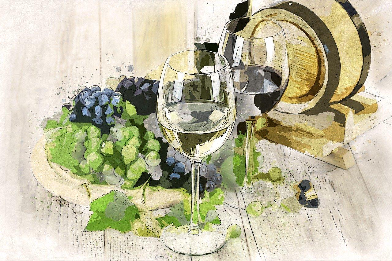 ワインと樽