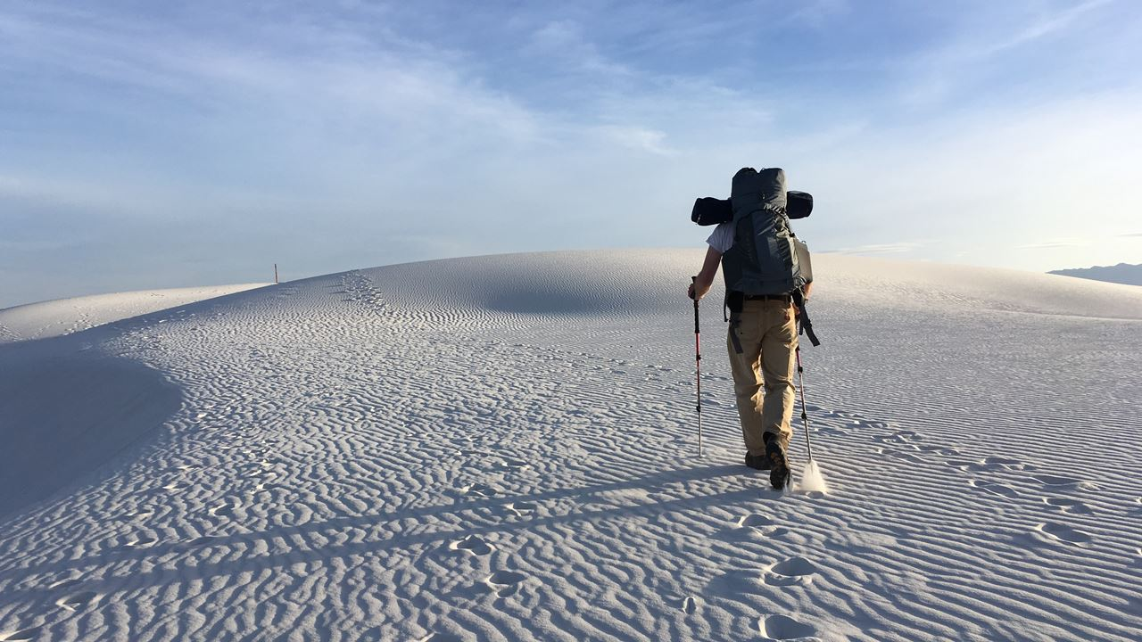 砂漠_歩く